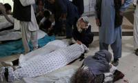 More than 30 dead, dozens hurt in blast near Afghan girls' school