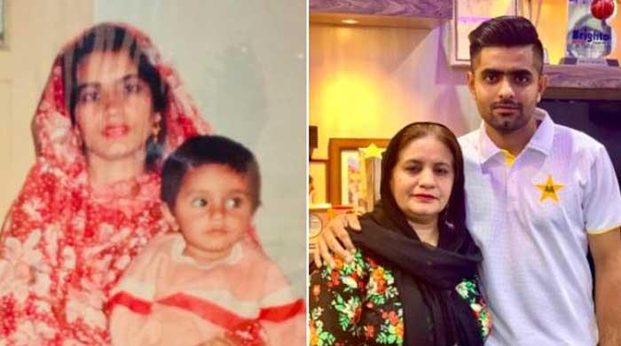 Babar Azam pays rich tribute to mother in latest social media post