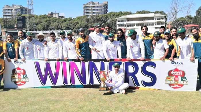 Pak vs Zim: Babar Azam leads Pakistan to another Test victory