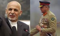 COAS Bajwa, Ashraf Ghani exchange views on Afghan peace process