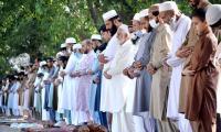 People in two KP villages mark Eid Eid ul Fitr today