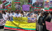 Protests held across Pakistan in solidarity with Palestine