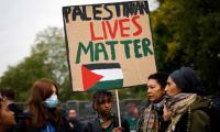 Thousands across Europe take to the streets to back Palestinians