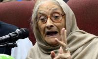 Senior ANP leader Begum Naseem Wali Khan passes away
