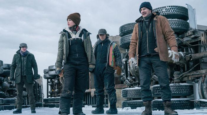 Liam Neeson unleashes thrill in trailer of upcoming Netflix movie The Ice Road