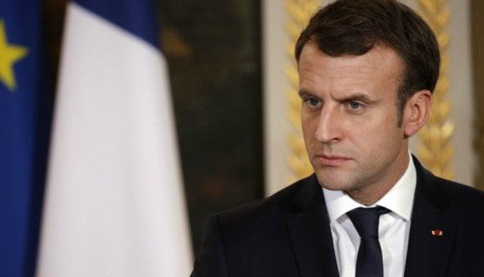French President Emmanuel Macron Gets Slapped By a Man