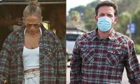 Jennifer Lopez wears Ben Affleck's shirt to remove all doubt about their romance