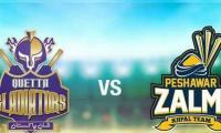 Watch PSL 2021 live stream: Peshawar Zalmi vs Quetta Gladiators, match no 19