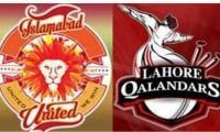 Watch PSL 2021 live stream: Islamabad United vs Lahore Qalandars, match no 20