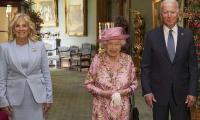 Biden takes tea with the Queen