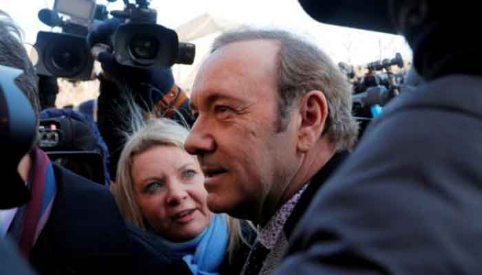 Kevin Spacey accuser dismissed from case for refusing to identify himself publicly