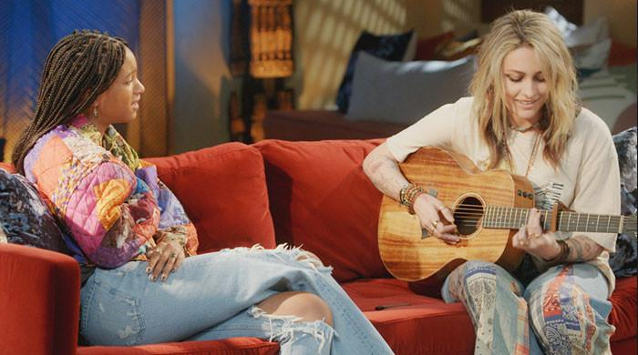 Paris Jackson performs new track 'Freckles' on Red Table Talk