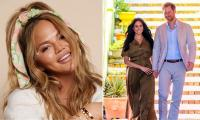 Chrissy Teigen 'in talks' with Oprah for a Meghan and Harry-like interview