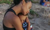Naya Rivera's father praises her son for handling her death 'really well'