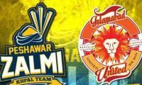 Watch PSL 2021 live stream: Islamabad United vs Peshawar Zalmi, match no 26
