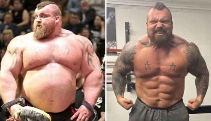 Game of Thrones The Mountain vs Eddie Hall: British fighter reveals a massive weight drop
