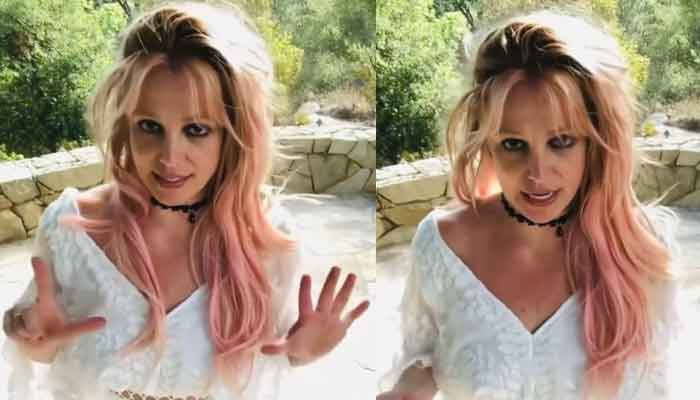 Britney Spears responds to fans queries in a video message