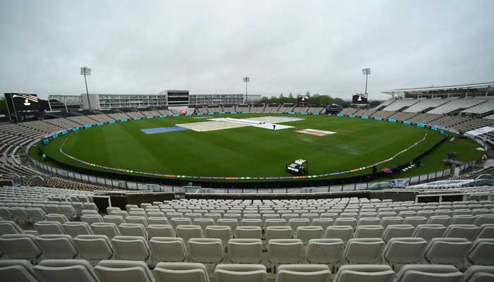 Southampton: The toss has been delayed due to rain and there will be no play in the opening session.