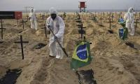 Brazil faces second highest Covid toll of 500,000 deaths after US