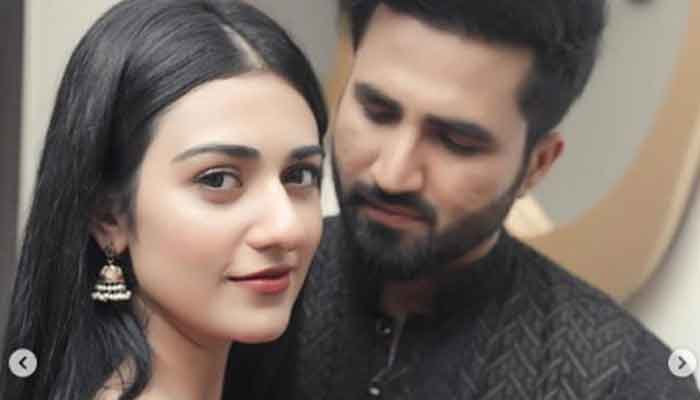 Sarah Khan says shes expecting her first child with Falak Shabbir