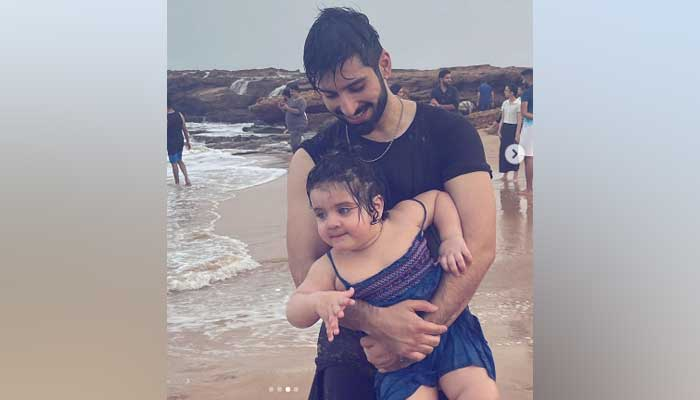 Muneeb Butt leaves fans gushing over adorable snaps with daughter Amal