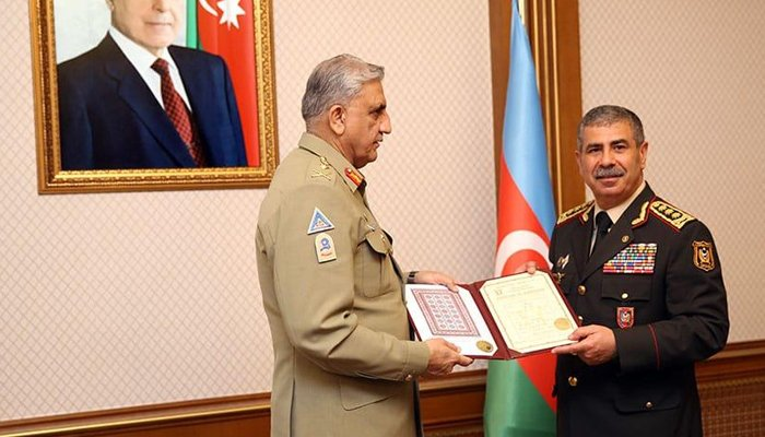 Gen Bajwa discusses regional issues, military cooperation with Azerbaijan leadership