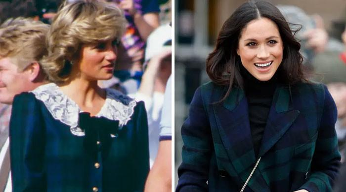 Princess Diana was included in Meghan Markle's book in a special way