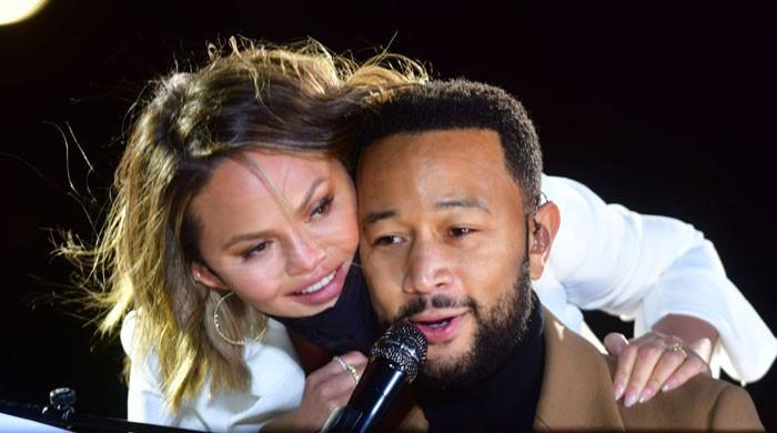 Chrissy Teigen pens emotional note for John Legend: 'We love you forever'