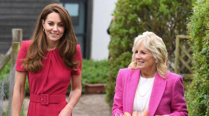 Kate Middleton criticized for being 'political' after subtle nod to Jill Biden