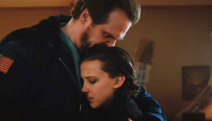 Millie Bobby Brown didn't forget her on-screen dad David Harbour on Father's Day
