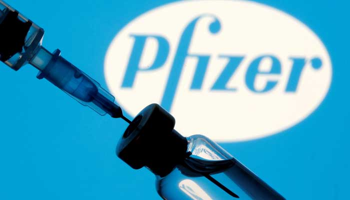 Pfizer vaccine. File photo