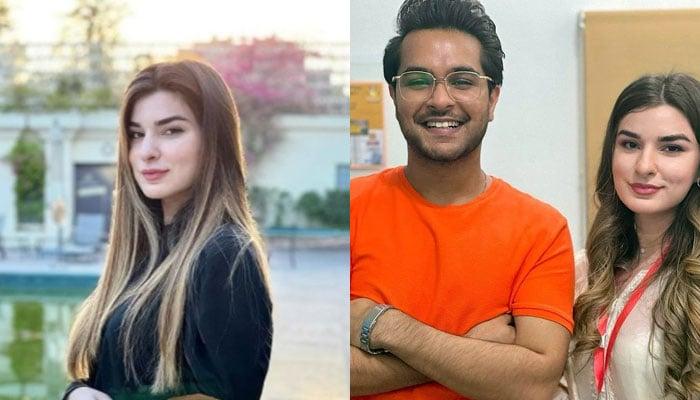 Zara Naeem Dar is starstruck after meeting Asim Azhar: See Photo