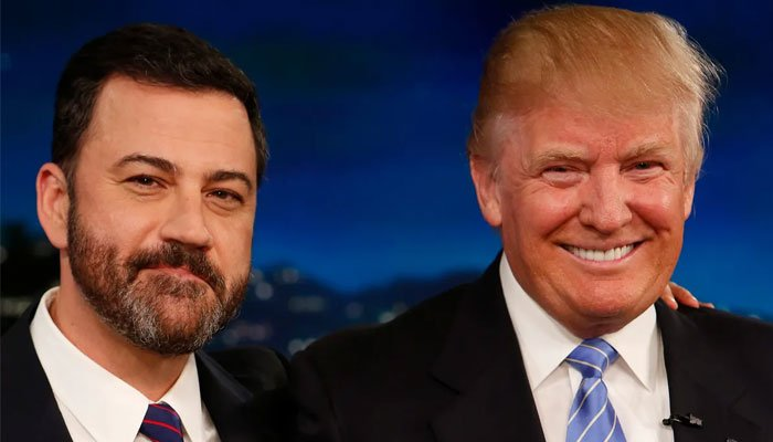 Jimmy Kimmel termed Donald Trump 'President Snowflake' after the move