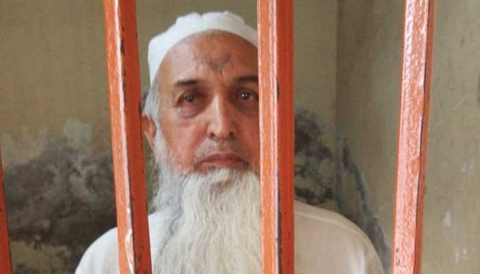 Accused Mufti Aziz-ur-Rehman. Picture Punjab IG Inam Ghani.