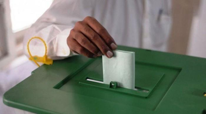 A man casts his vote in an election. Photo: File