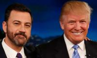 Jimmy Kimmel mocks 'snowflake' Trump for 'not knowing how to take a joke'