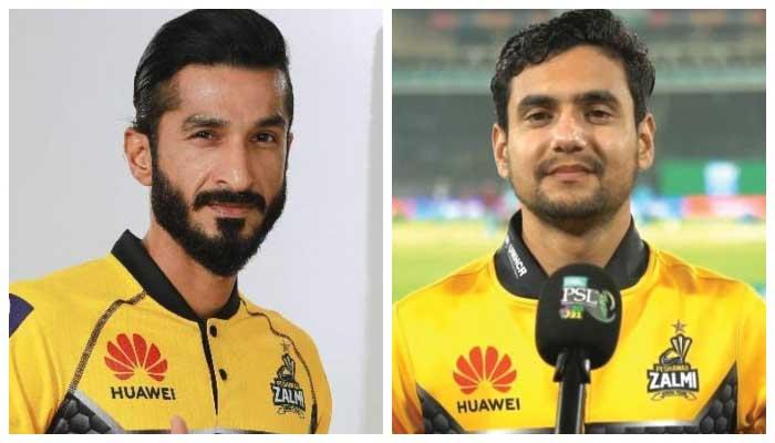 Umaid Asif (L) andHaider Ali (R)