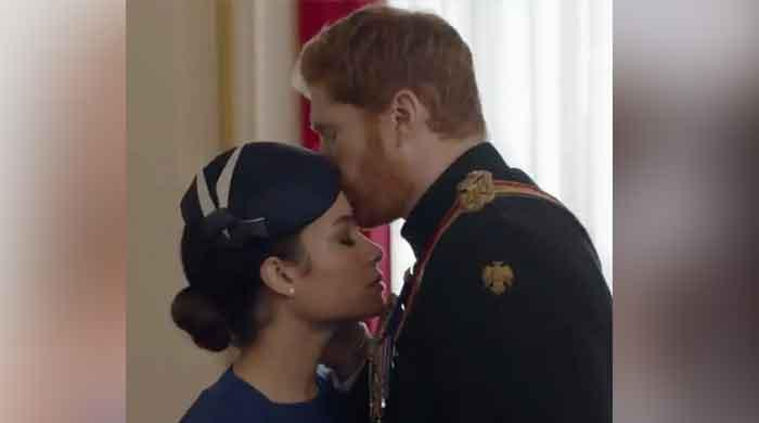 Prince Harry sees Meghan Markle 'being hounded to death' in dramatic new Lifetime film trailer: Video