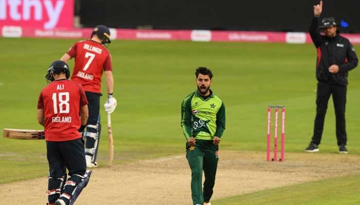 File photo of an ODI match between Pakistan and England.