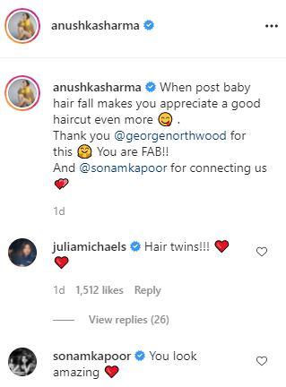 Anushka Sharmas American doppelganger praises new haircut