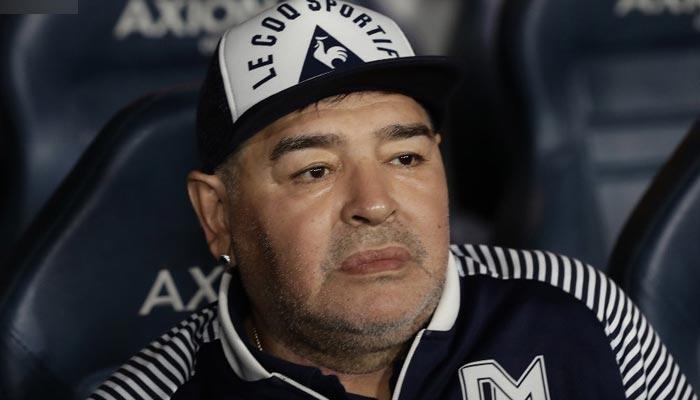 Football legend Diego Maradona.  - AFP / File
