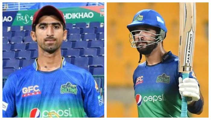 Shahanawaz Dahani and Sohaib Maqsood. File photo