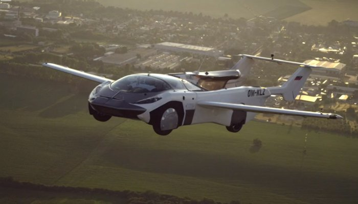 Successful test flight of flying car carried out between two airports in Slovakia