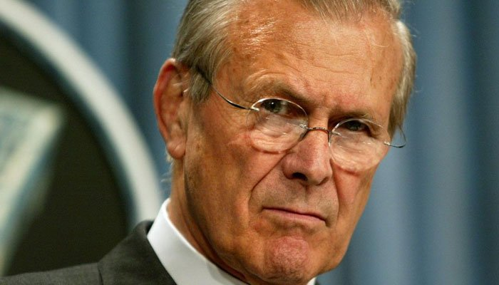 Donald Rumsfeld, architect of US wars in Iraq and Afghanistan, passes away
