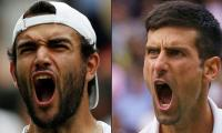 Novak Djokovic eyes 20th major title against Matteo Berrettini in Wimbledon final