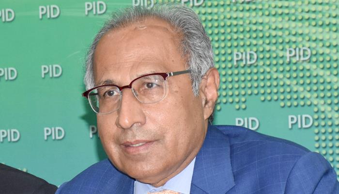 Ex-finance minister Abdul Hafeez Shaikh. — Online/File