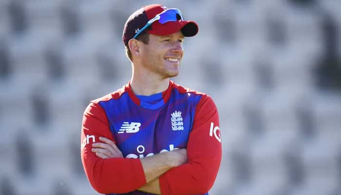 England captainEoin Morgan.