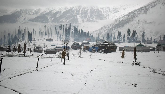 A view of snow-covered Neelum Valley in Azad Jammu and Kashmir. ─ AFP/File