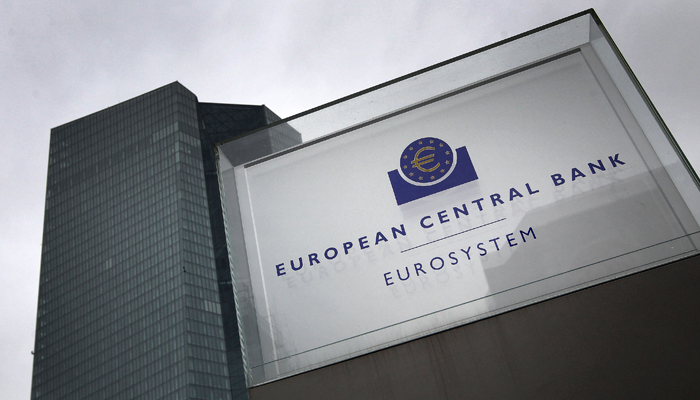 This file photo taken on March 12, 2020 shows the headquarters of the European Central Bank (ECB) in Frankfurt am Main, western Germany. — AFP/File