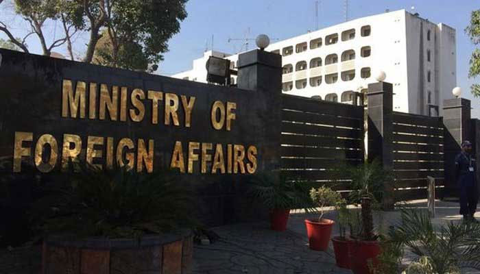 Ministry of Foreign Affairs.